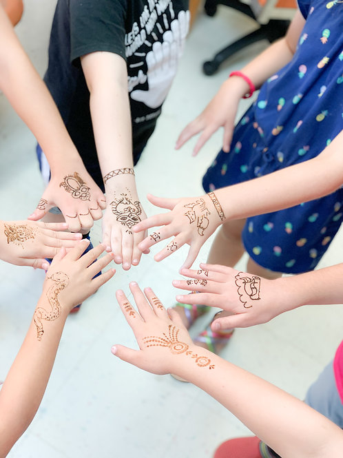 1 Day Camp: August 10th Henna Together!