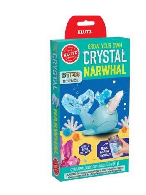Crystal Narwhal Klutz Kit