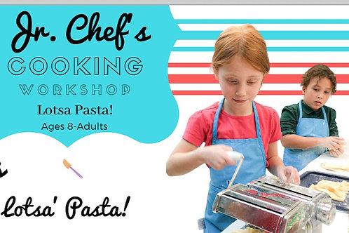 Pasta Making Workshop~Sun 1/10th  1pm
