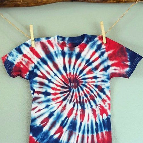 1 Day Camp: June 29th Patriotic Tie Dye Day!