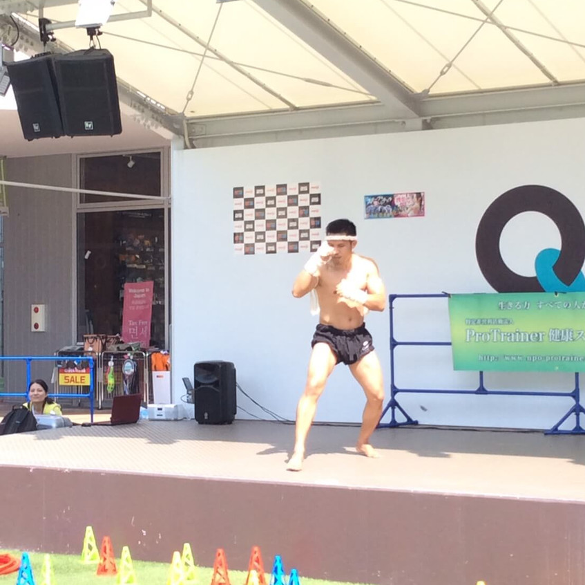 muay thai boran show