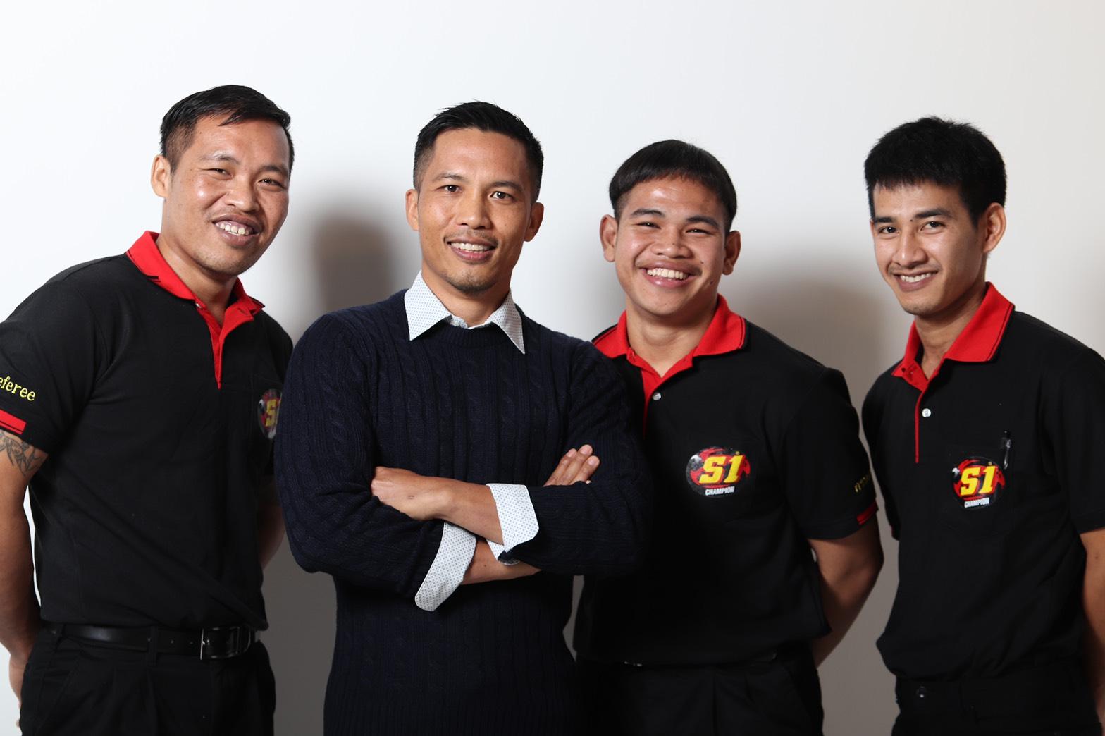 MFC referee team
