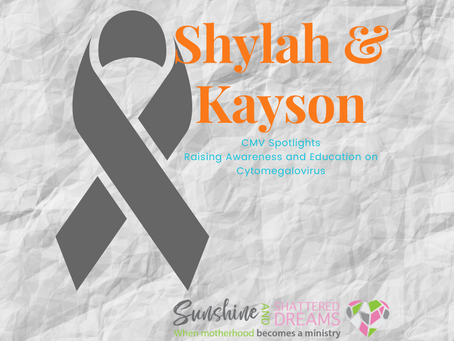 CMV Spotlight: Shylah and Kayson