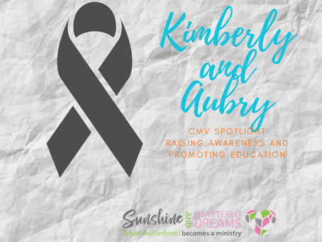 CMV Spotlight: Kimberly and Aubry