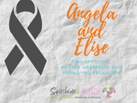CMV Spotlight: Angela and Elise