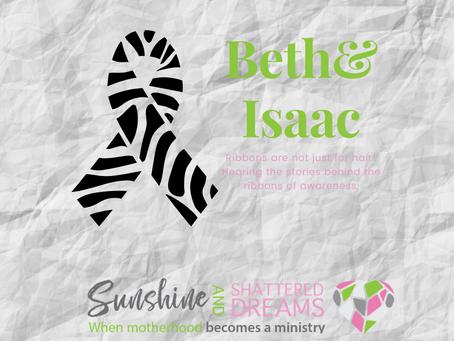 Behind the Ribbon: Beth and Isaac