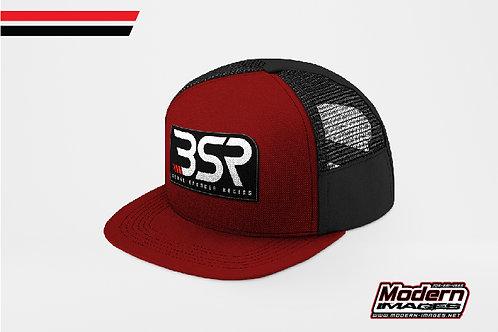 BSR Hat -Red/Black