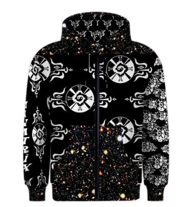 Shamanatrix Galactic Star*Gate * Mens Jacket