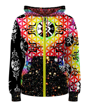 Shamanatrix Galactic Flower Jacket