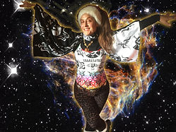 Shamanatrix Missy Galore * emenations from the heart of creation * performance art promo pic