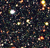 Deep Field Deep Space ~ long exposure Galactic History revealed