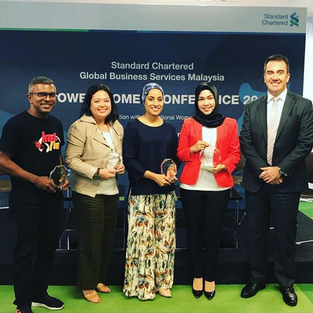 Guest Speaker at Standard Chartered's Empowered Women Conference 2019