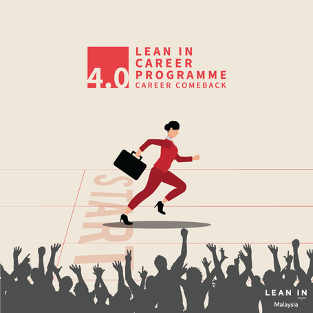 Lean In Career Programme 4.0 is back!