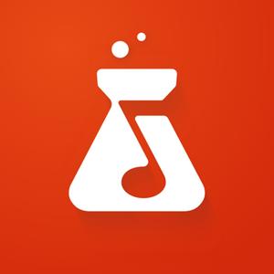 Logo for the app BandLab