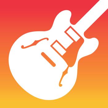 Logo for the App GarageBand