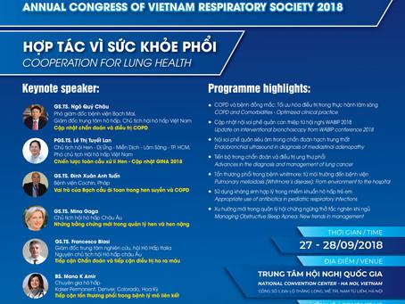 Annual Congress of Vietnam Respiratory Society 2018