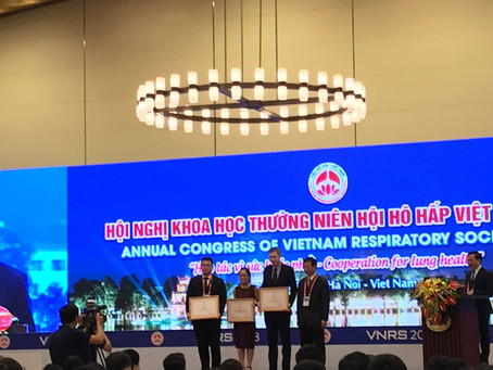 VCAPS team in Annual Congress of Vietnam Respiratory Society 2018