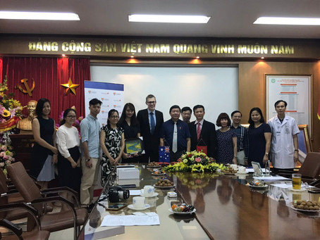MOU Signing Ceremony at Bach Mai Hospital
