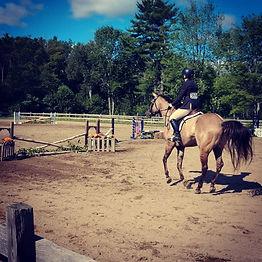 Aili & Niko at Stonewall Farms horse show