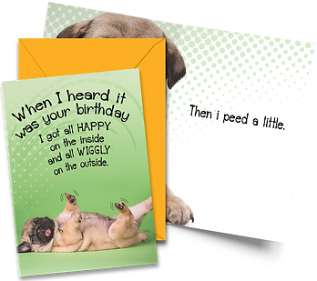 WIGGLY-Birthday Card