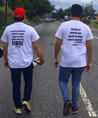 marcha estudiantes Operación Venezuela