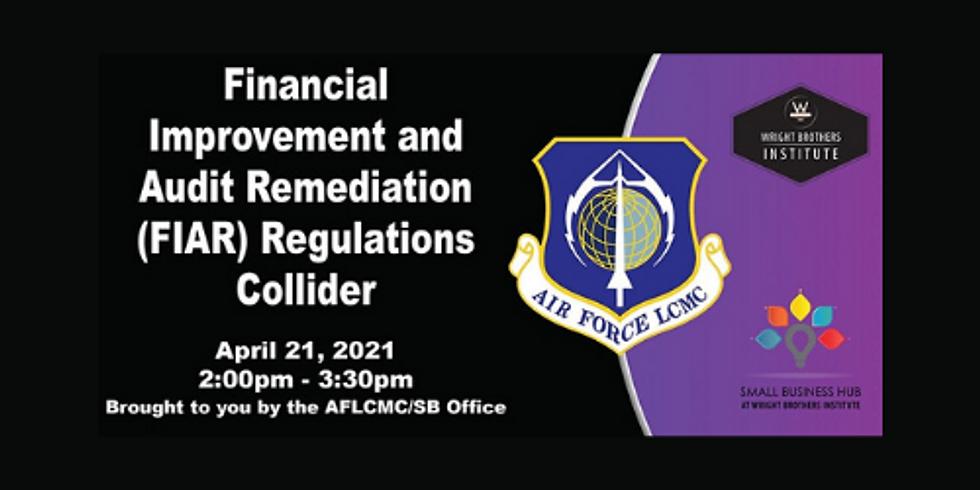 Financial Improvement and Audit Remediation  (FIAR) Regulations Collider