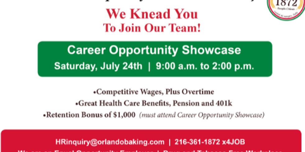 Orlando Baking Career Opportunity Showcase
