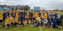 Post-game with the Aussie U19s