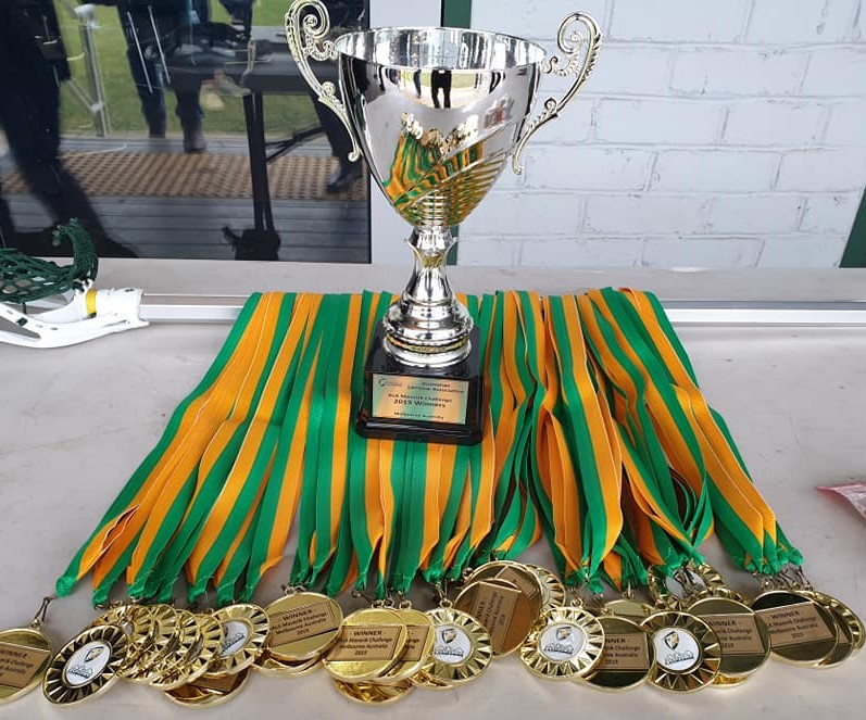 Our Gold Medals and Cup