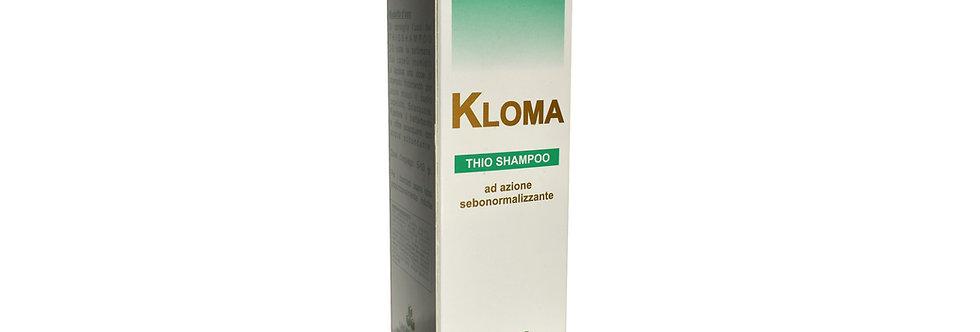 Kloma Thio shampoo ad azione sebonormalizzante