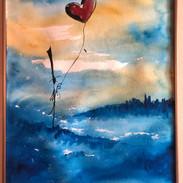 TexasArtists_Watercolors_Illustrations_Blue Heart