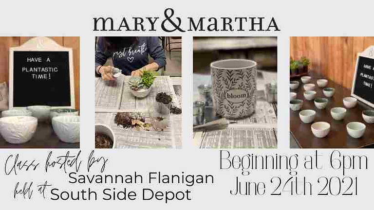 Mary & Martha Class