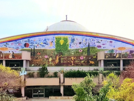 HAIFA HOSTS THE BIGGEST IN THE WORLD CERMAIC WALL PAINTING