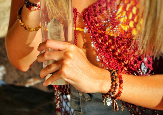 Crystals on Crystals
