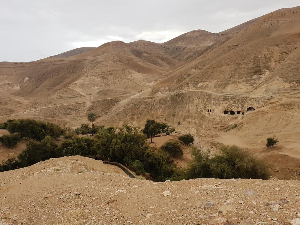 Wadi Qelt Monastic Caves