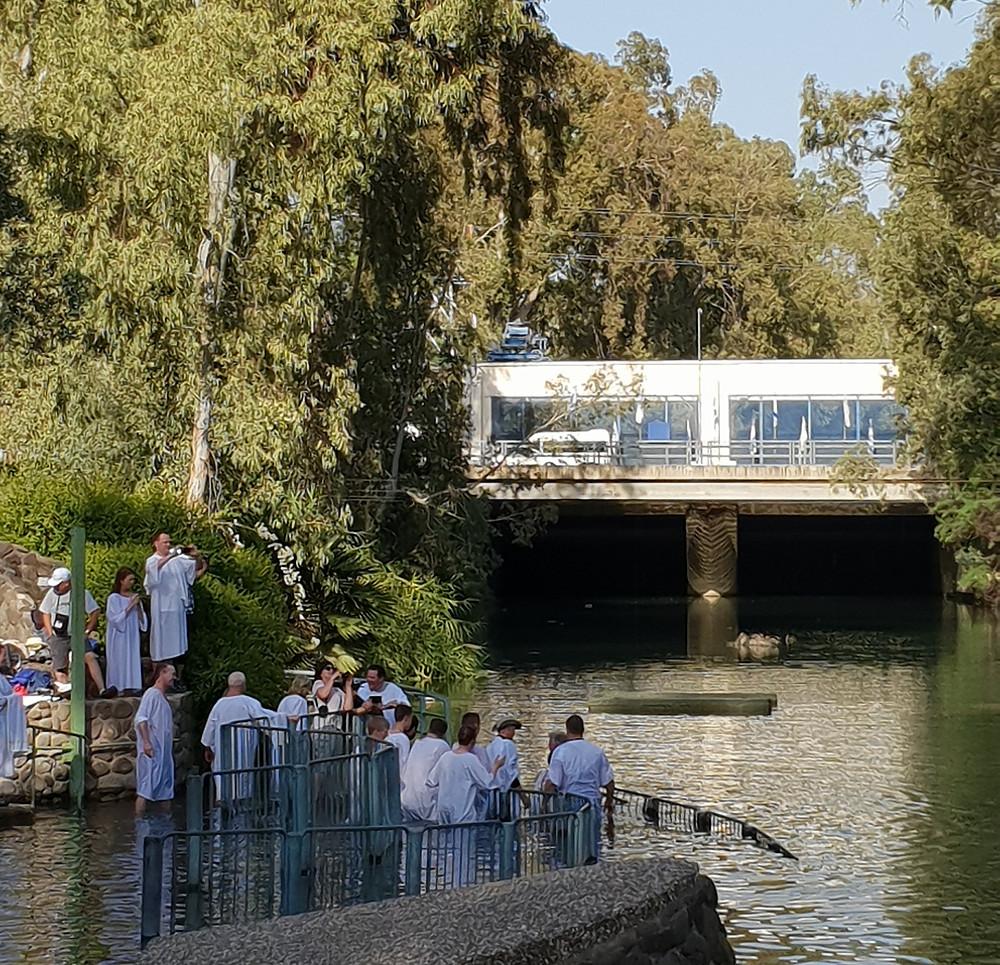 Baptism at Jordan River