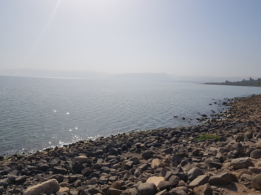 Port of Magdala - people believe that Jesus sailed across the Sea of Galilee from here