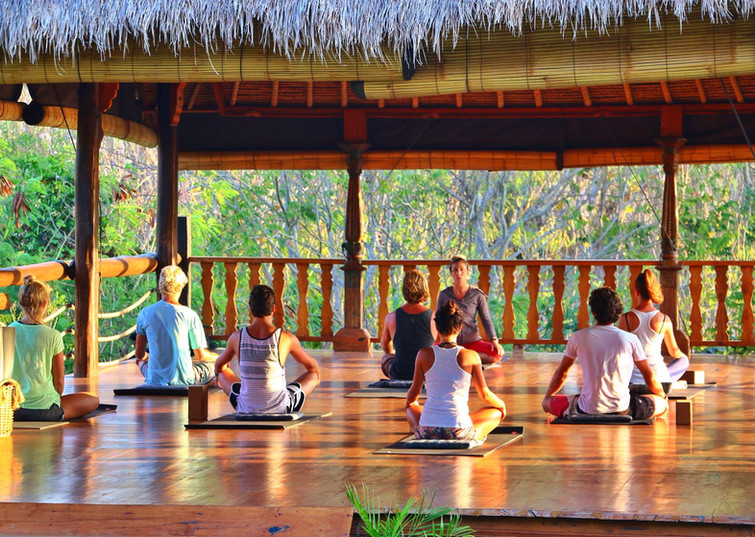"""""""We engaged Sarah to  take promo shots of our yoga retreat location. Very happy will be back."""" -Celeste Wilson"""