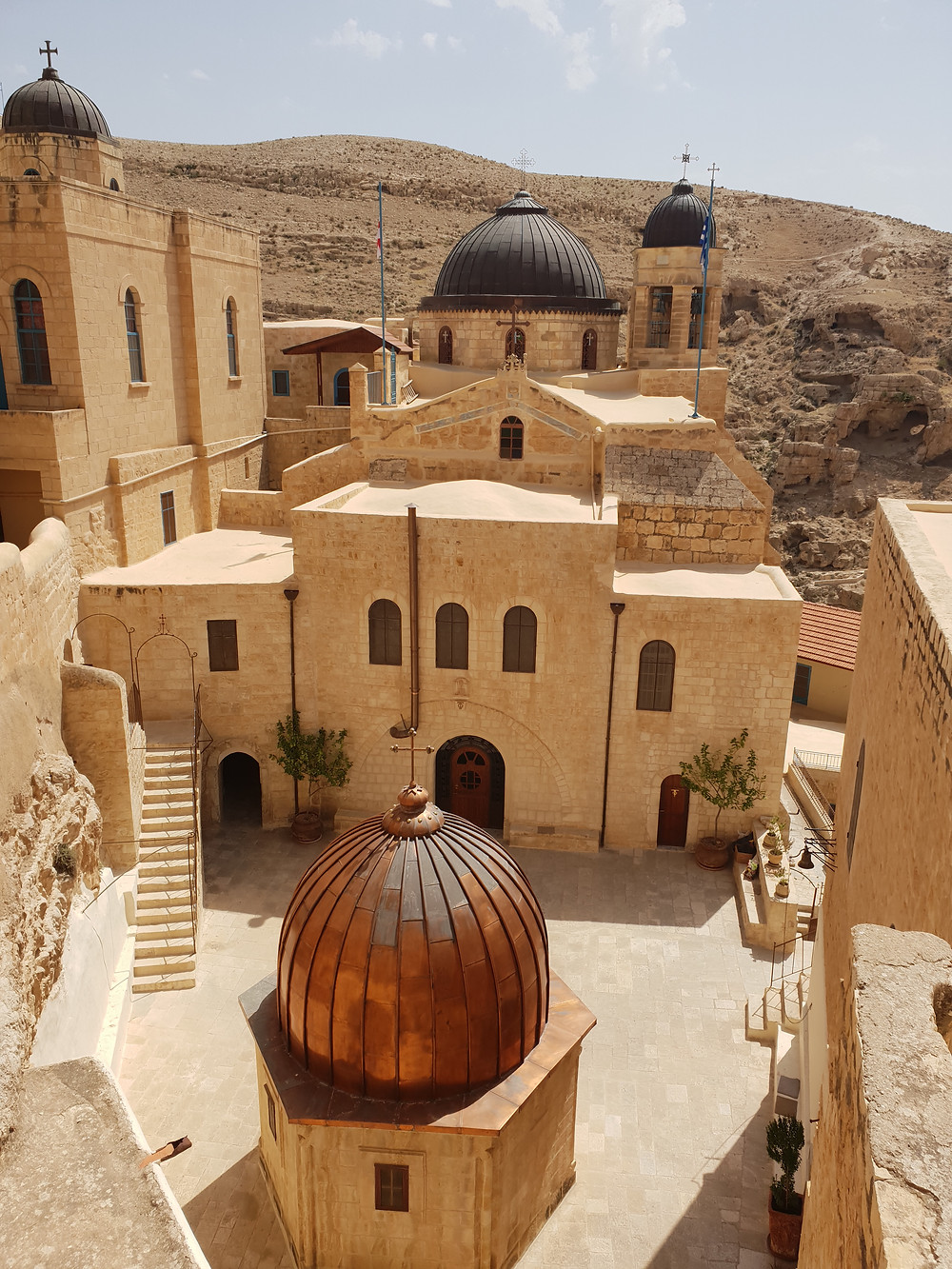 Full of secrets, men only Mar Saba Monastery