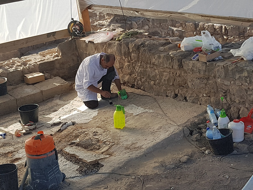 Excavations at Magdala continue of the decade and yet we expect even more miralceous things to be found
