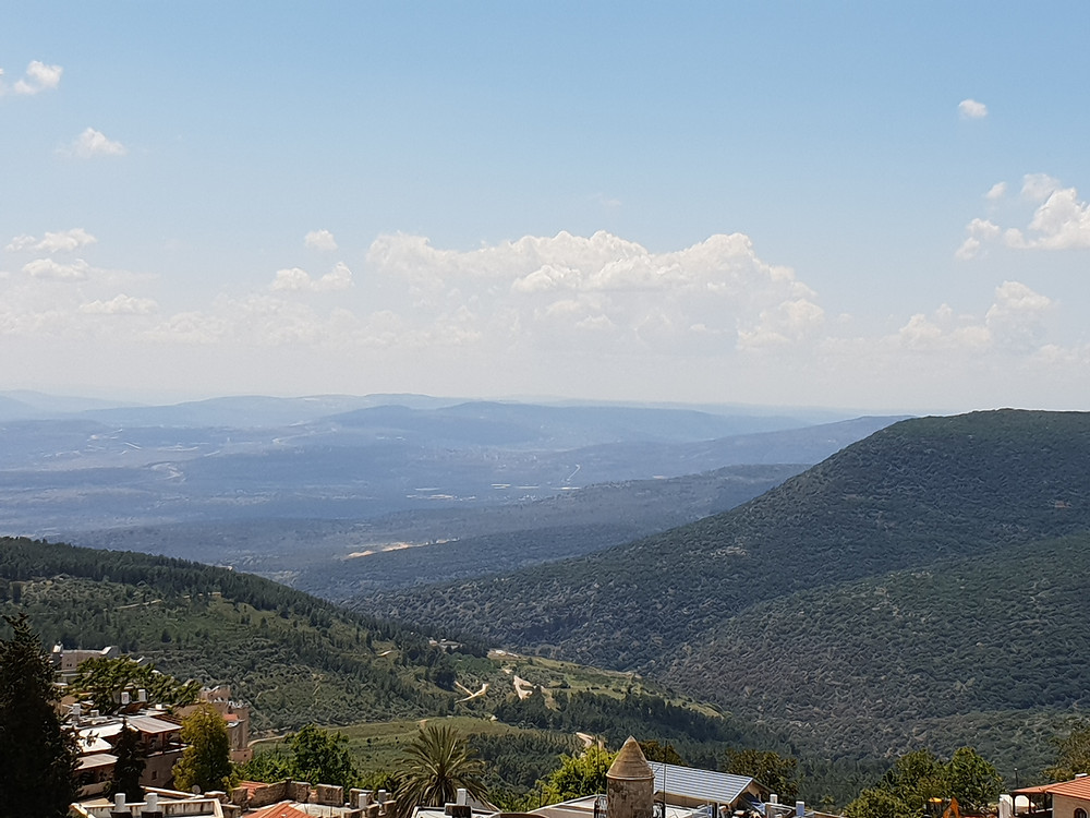 Views of Galilee from the City Safed