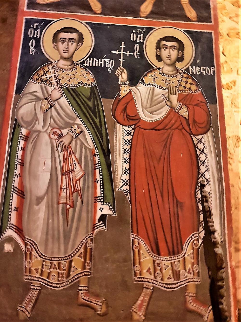 XI Century Frescos