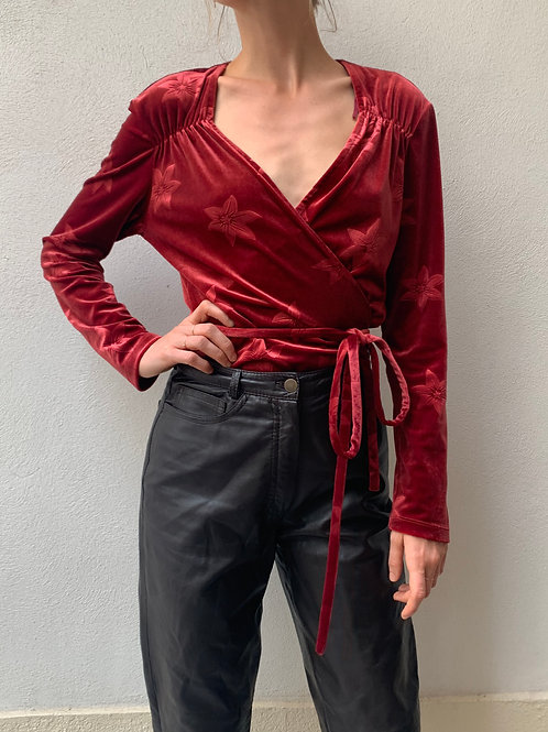 blouse  &Other Stories velours