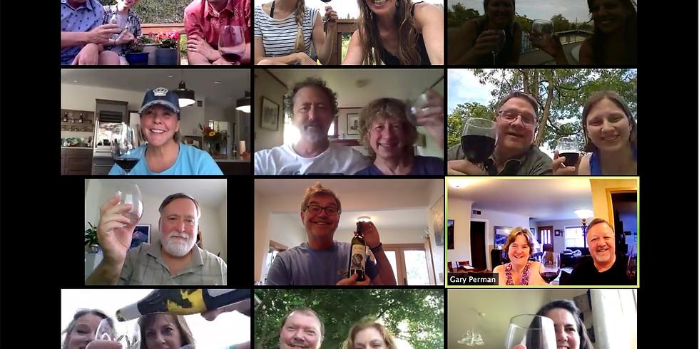 Virtual Happy Hour - Online Wine Tasting
