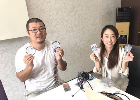 軍艦島3DとマンホールGOについて長崎市民エフエムで語りました。
