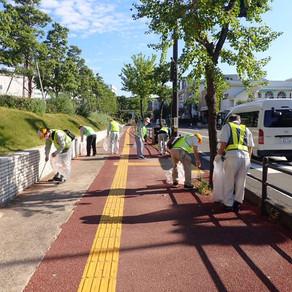 【第2回】長崎地区で道の見守り活動を行いました。
