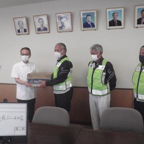 【下五島地域部会】医療従事者に飲料水を届けました。