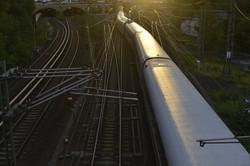 3Dフォトグラファー出水享が撮影したドイツベルリンの電車