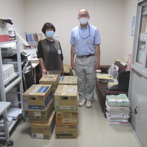 【対馬地域部会】医療従事者に飲料水を届けました。