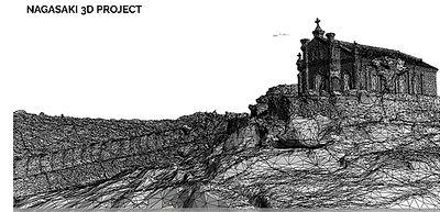 3Dフォトグラファーの出水享が実施する長崎3Dプロジェクトと長崎3D。